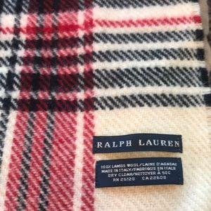 Plaid scarf- Ralph Lauren